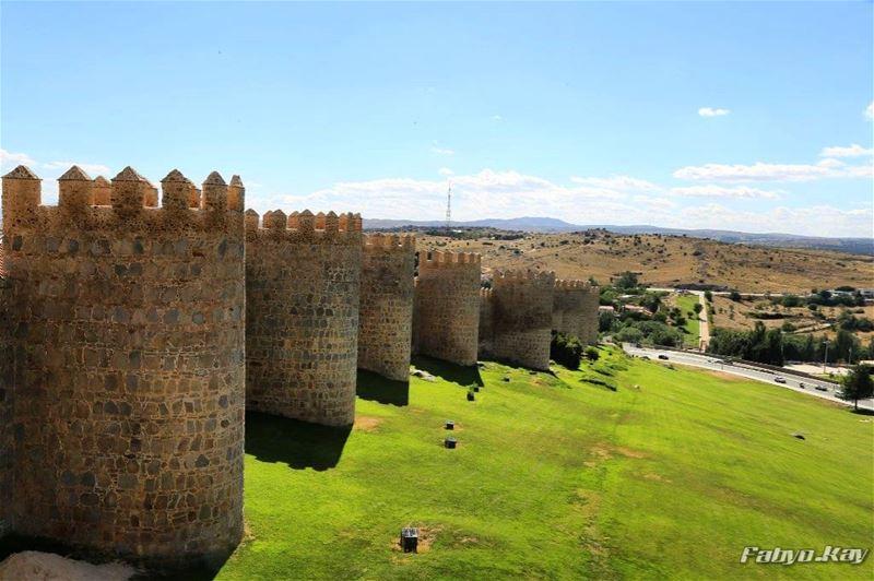 Amazing castle avila======================================= spain españa... (Murallas De Avila, Avila, Espana)