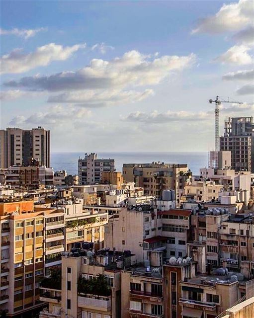 beirut verdun lebanon view blue sky sea summer livelovelebanon ... (Verdun)