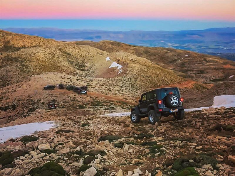 Driving downhill O|||||||O lebanon sunset mountains scenery sunsets ...