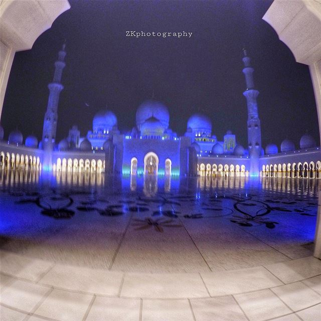 Prayer is the key of the morning and the bolt of the evening. •Mahatma... (Sheikh Zayed Mosque)