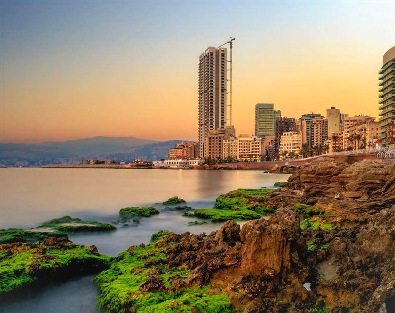 beirut nature landscape lebanon_hdr lebanonspotlights beautifullebanon... (Ain El Mreisse, Beyrouth, Lebanon)