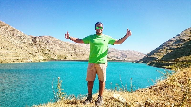 Nature is not a place to visit. It is home. faraya farayalovers ... (Chabrouh Dam-Faraya)