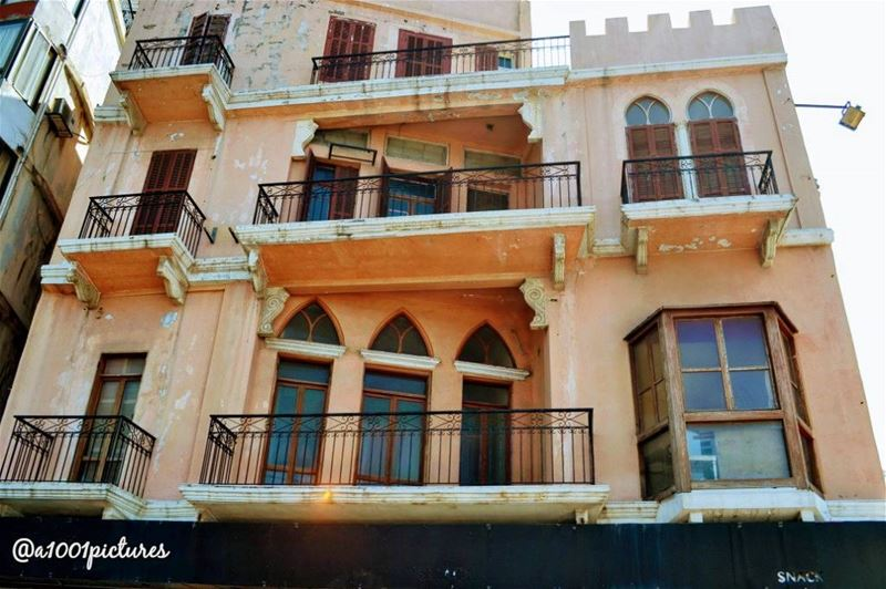 The peach house........... travelphotography photos nikon tb ... (Beirut, Lebanon)