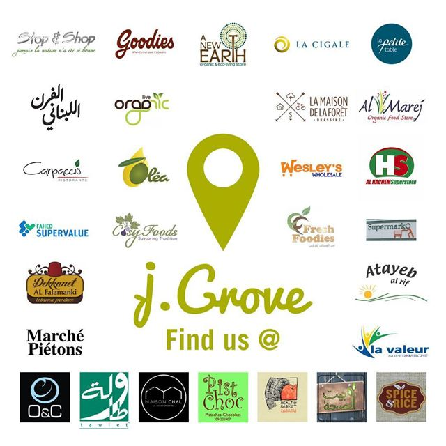 We've just got closer! Find your favorite j.Grove Homegrown products in...