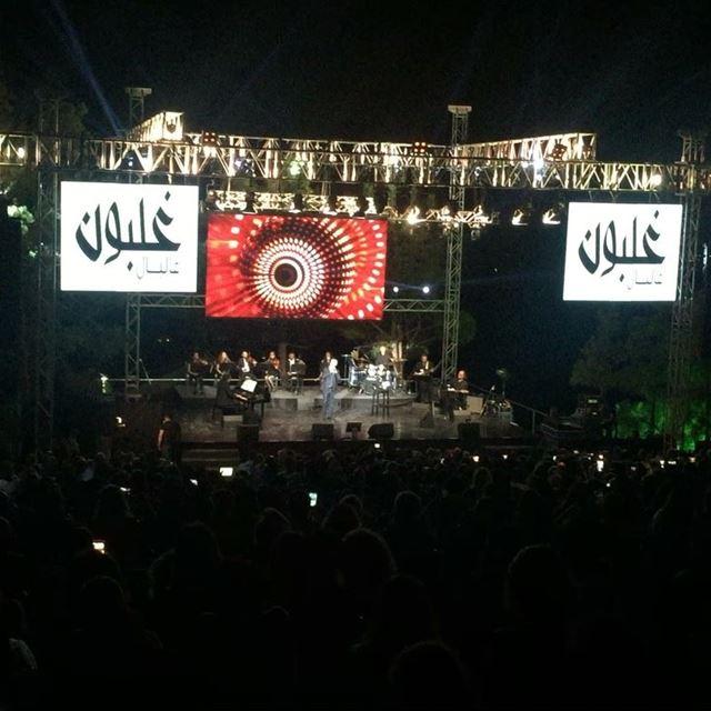 Luna tu... @ghalbounintlfestival @alessandrosafinaofficial ... (Ghalboun Village)