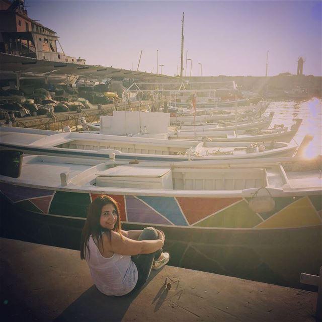 lebanon batroun mina minaelsayyadin boats fishers port ... (Batroûn)