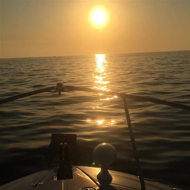 lebanonshots lebanonpictures summer sunset ptk_lebanon boat ... (Mediterranean Sea)