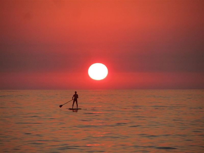 lebanon nature beach sea sports sunset sup outdoors outdoor ...