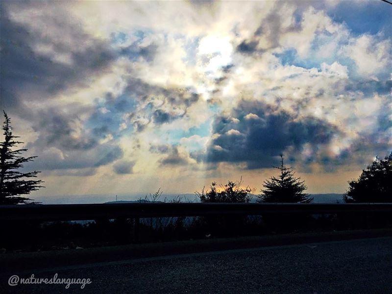 Eye catching view of the skies of lebanon mylebanon lebanon_hdr ... (Roûm, Al Janub, Lebanon)