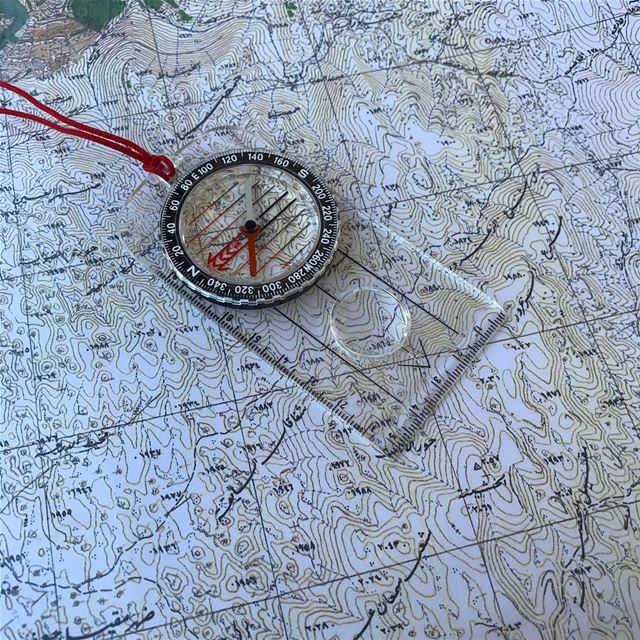 All you need is a map and a compass. lebanon livelovebeirut ...