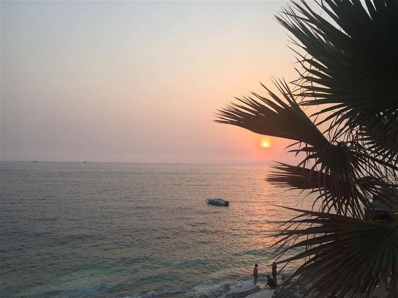 sunset smoothoperator amchit lebanon lebanon_hdr lebanonshots earth... (Amchit)