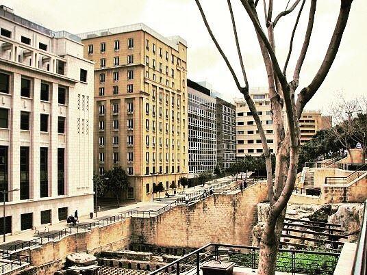 Downtown...... lebanon beirut architecture beautifuldestinations... (Beirut, Lebanon)