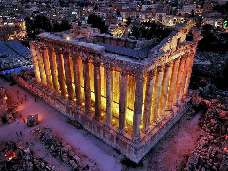 Baalbek the City of Sun... AboveLebanon Lebanon LiveLoveBeirut ...
