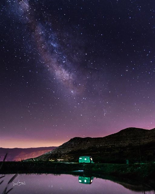 Starry nights quiet the soul ✨...... starrynight summer stars ... (El Laqloûq, Mont-Liban, Lebanon)