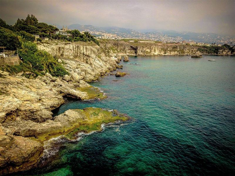 Aerial rocky shores. aerial dronephotography drone dronestagram ... (Amchit)