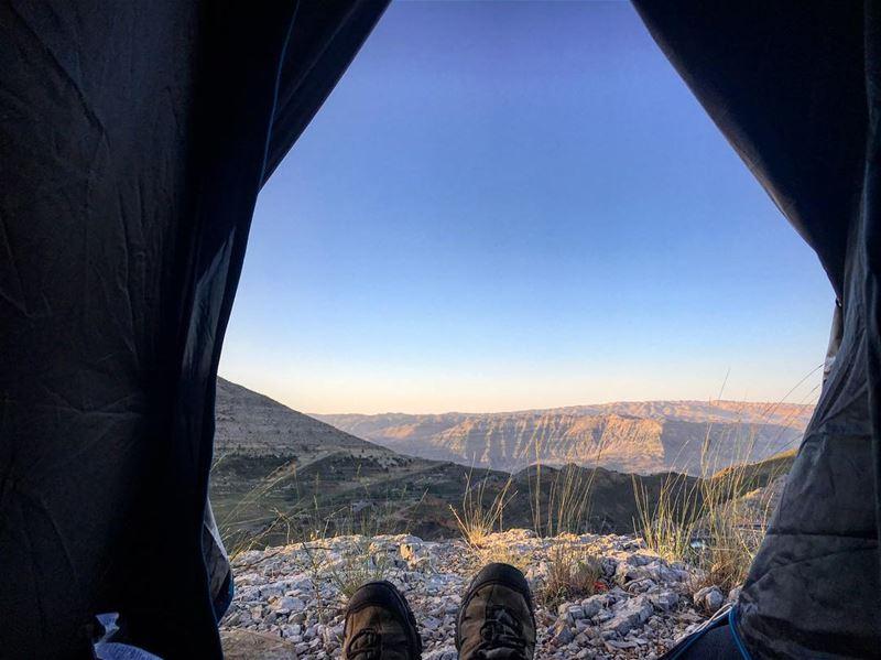 woke up to this 🇱🇧⛰ lebanon lebanon_hd lebanon_hdr hafroun byblos ... (Qornet Hafroûn)