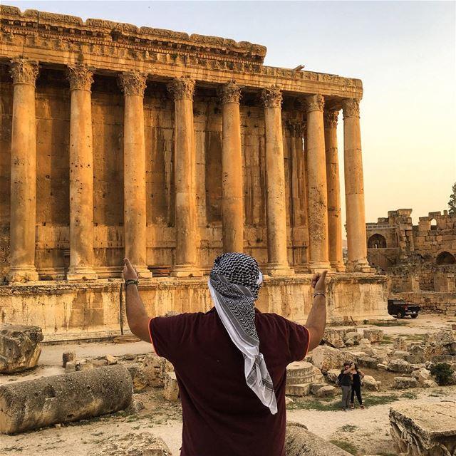 غيبي يا شمس غيبي 🏛 ... (Temple of Bacchus)