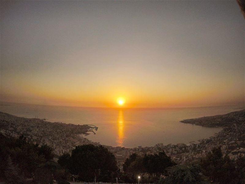 s u n s e t .. v i e w 🇱🇧 lebanon lebanon_hd lebanon_hdr harissa ... (Harîssa, Mont-Liban, Lebanon)