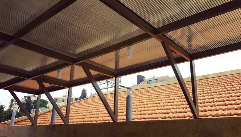 The one thing that will keep the Heat Away! Polycarbonate... (Mansourieh)