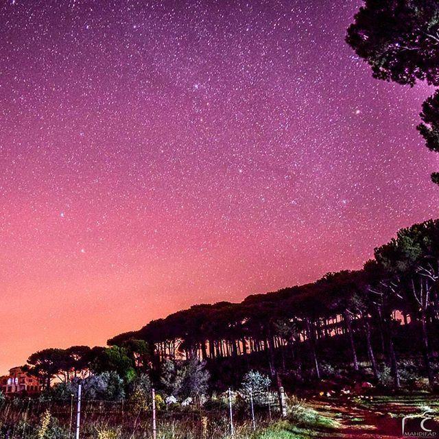 Star Gazing ... by @mahdifad (`Aramtá, Al Janub, Lebanon)