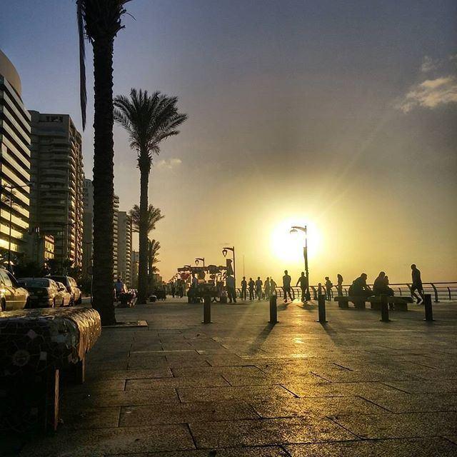 Evening run in LiveLoveBeirut by @hamoucheeee (Beirut, Lebanon)