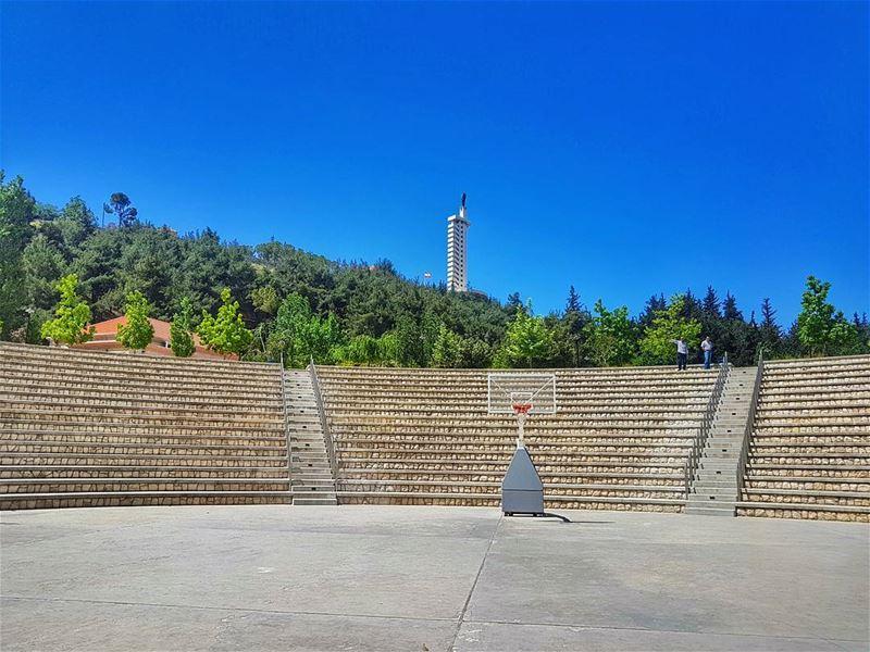 A view from Zahle park zahle livelovezahleh landscape livelovelebanon ... (Zahle Park)