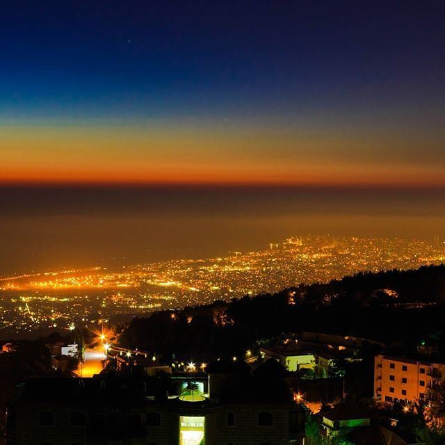 Shades of lights over LiveLoveBeirut by @mahdifad (Beirut, Lebanon)