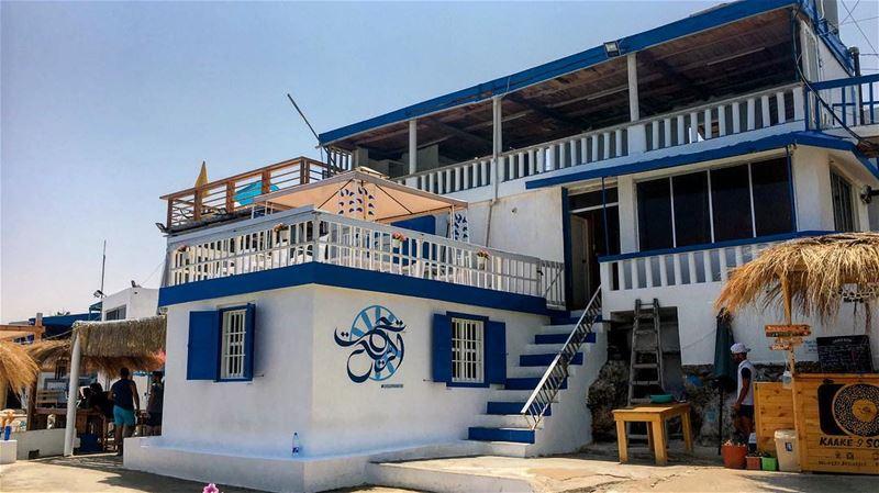 t a h t e l r i h ..🇱🇧 lebanon lebanon_hd lebanon_hdr sea beach ... (Ta7t El Ri7 - Anfeh)