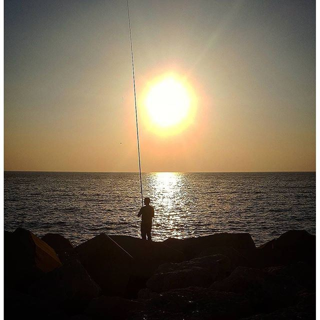 Don't you wish you were out fishing ? @livelovedbayeh (Dbayeh, Mont-Liban, Lebanon)