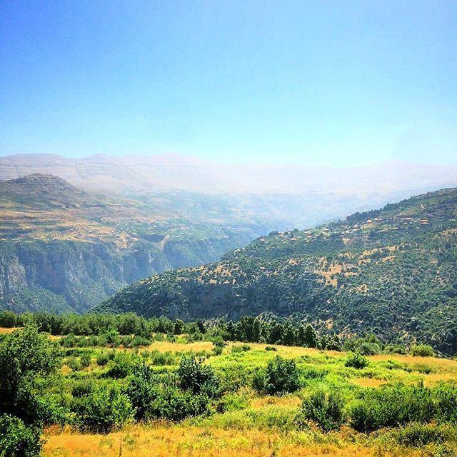 Wadi Qannoubine's got the green coat on by @gabferneine (Wadi qannoubine)