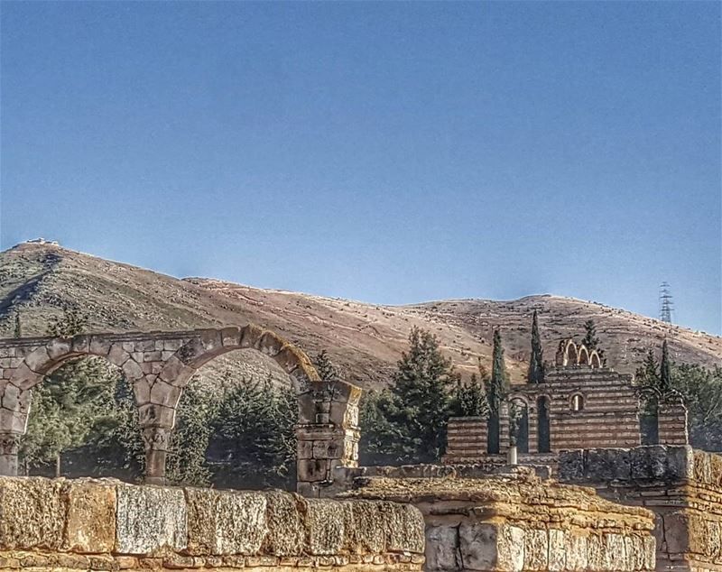 Anjar castle ▪▪▪▪▪▪▪▪▪▪▪▪▪▪▪▪▪▪▪▪ lebstagram super_lebanon sponsored ... (Anjar_Anjar Castle)