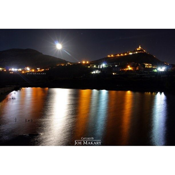 ehden waterreflections reflection night light longexposure moon ...