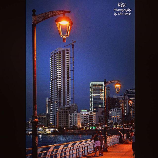 ...لم يبقَ في شوارعِ اللّيلْمكانٌ أتجوَّلُ فيهْ..أخذَتْْ عَيناكِ..كُلَّ (Beirut, Lebanon)