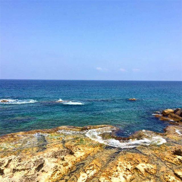 The Kfarabida coast a little piece of heaven 🌊🌊 lebanon instafun ... (Kfar Abida)