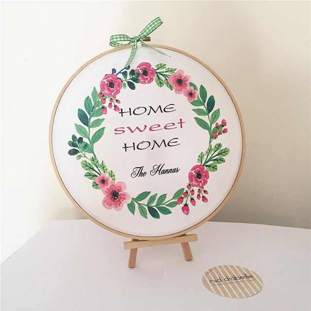 Home is where the heart is ❤️ Write it on fabric by nid d'abeille  king ...