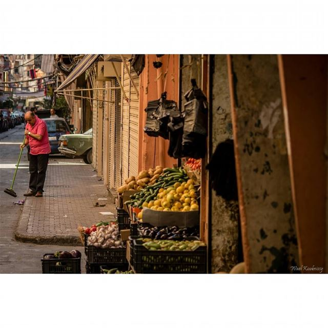 beirut lebanon street vegetables shop streetphoto market colorful ...