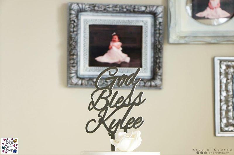 God Bless Kylee 👼🏻From Kylee's baptismday at @restaurantamar 😍... (Amar - قمر)
