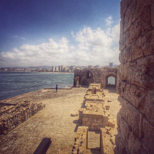 LiveLoveSaida LiveLoveLebanon wearelebanon lebanonbyalocal ig_Lebanon... (Sidon Sea Castle)