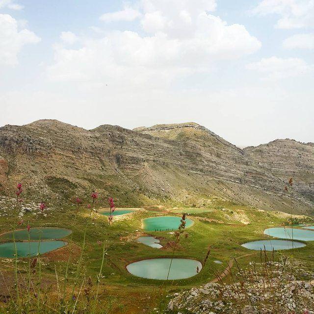 The lakes of @livelovelaklouk by @larakoussaife (Laklouk - Lebanon)