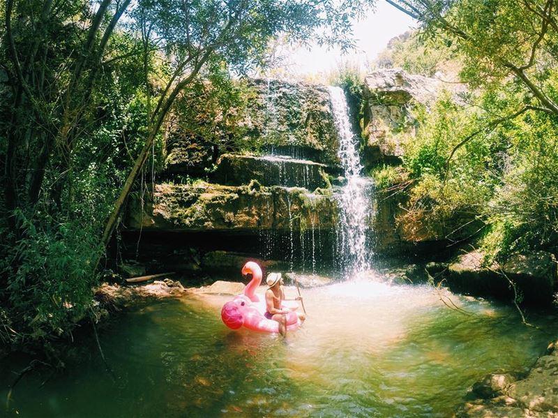 Gems🚿........ flomina gems waterfall lebanon faraya cold ... (Faraya, Mont-Liban, Lebanon)