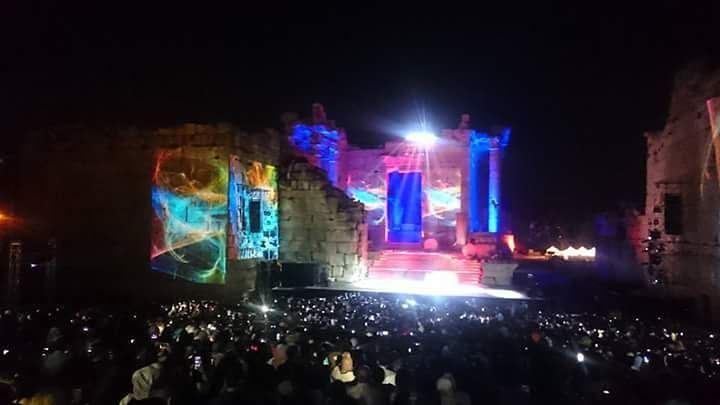 By Sleiman Amhaz مهرجانات بعلبك الدولية Baalbeck international festivals...