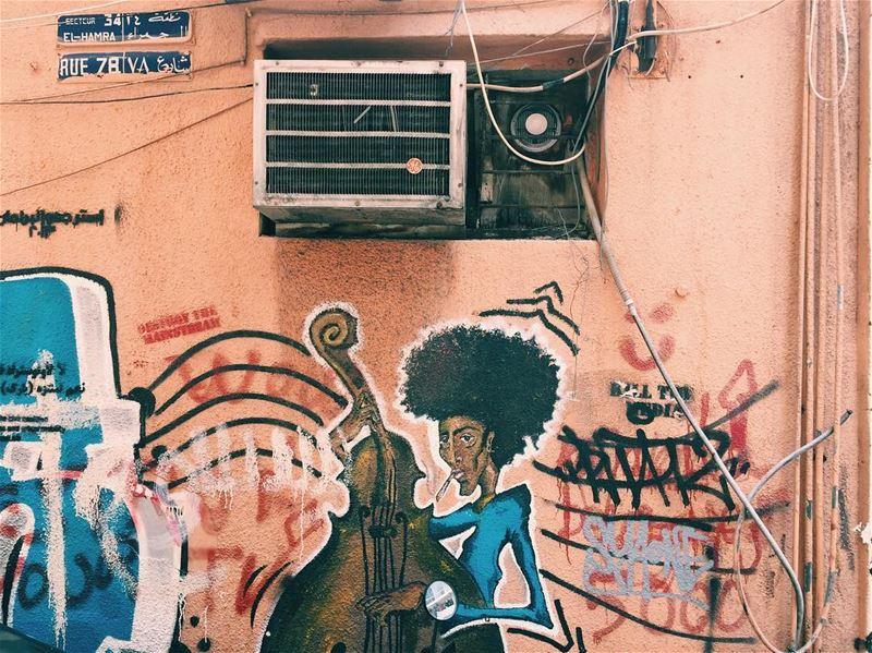*Cool Sunday* livelovebeirut proudlylebanese beautifullebanon ... (Hamra street , Beirut - شارع الحمرا ، بيروت)