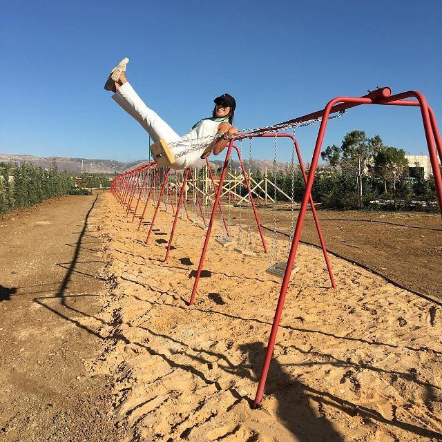 Ever wondered what a really long swing set looks like? @cascadapark part of @cascadamall is all set and ready to welcome you this summer! RSVP: 71064333 (Cascada Mall)