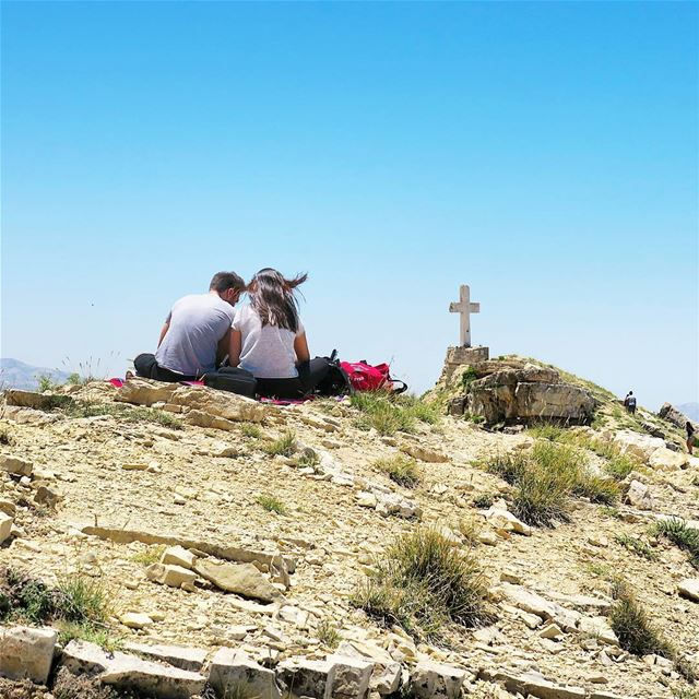 Beautiful Strangers 🌞 hike sun summer ridge akoura outdoors ...
