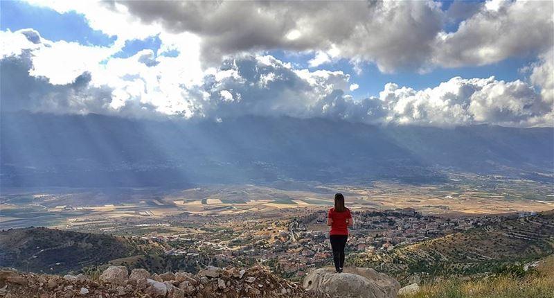 Jabel Baaloul 🇱🇧💙 ..... Lebanon LiveLoveBekaa LiveLoveLebanon ... (Baaloûl, Béqaa, Lebanon)