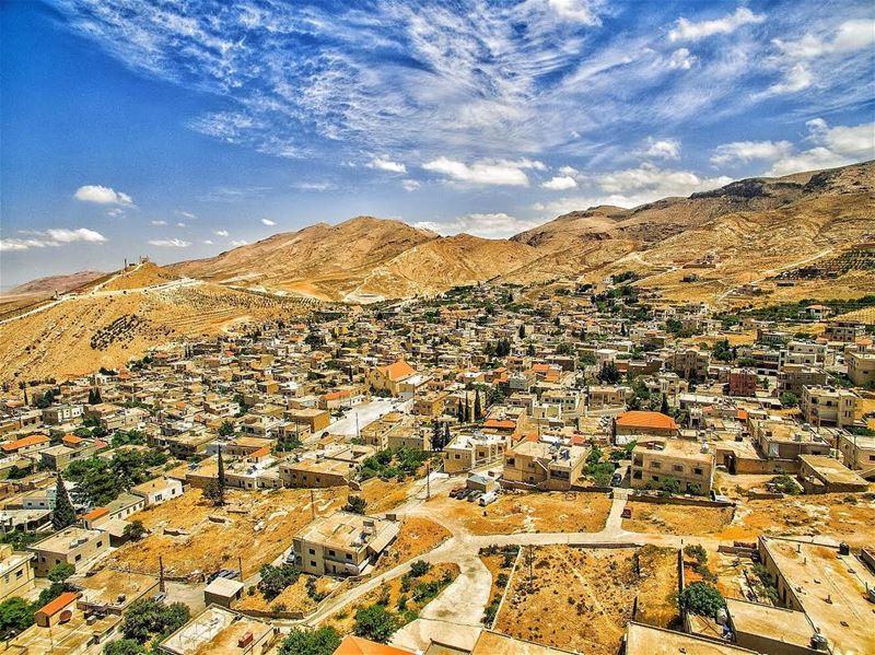 Home is not just a place ... it's a feeling ! livelovebekaa rasbaalback... (Ra'S Ba`Labakk, Béqaa, Lebanon)