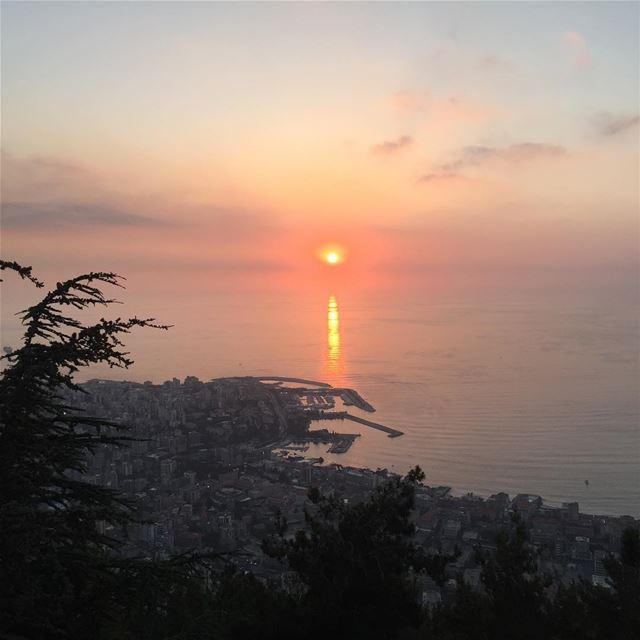 Beirut Sunsets with my love @alihoteit_84 😍🌄 baylodge instalebanon ... (Bay Lodge)