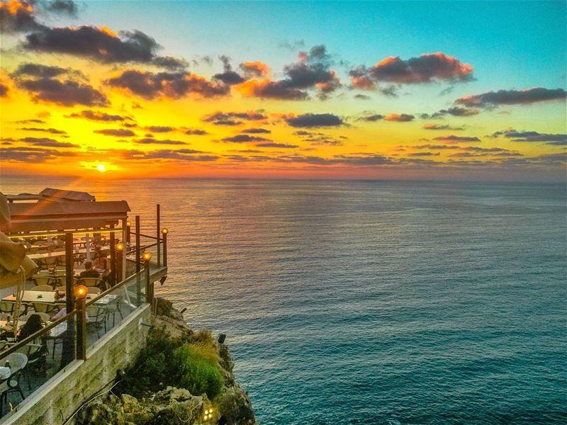 weekend here I come 😍😍................. Lebanon ... (Amwaj Al Bayada)