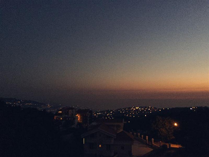Magical sunset ✨ igerslebanon vsco vscocam instalebanon lebanonspotlights... (Klayaat)