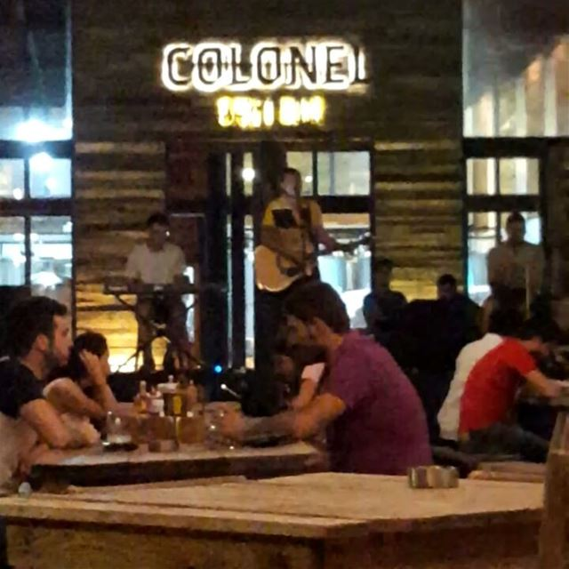 batroun @colonelbeer @dear.ear colonel beer brewery live band music... (Colonel Beer Brewery)